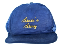 EXTREMELY RARE 1960S ARNIES ARMY SIGNED HAT