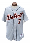 "2017 IVAN ""PUDGE"" RODRIGUEZ DETRIOT TIGERS GAME USED UNIFORM TEAM LOA"