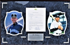 2/2/1994 ALEX RODRIGUEZ SIGNED CLASSIC GAMES INC. CARD CONTRACT