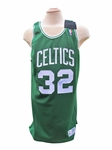 1992/93 KEVIN McHALE SIGNED BOSTON CELTICS GAME USED JERSEY