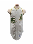 1969 TOMMIE REYNOLDS OAKLAND ATHLETICS GAME USED JERSEY