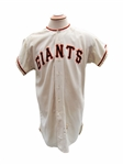 1962 DICK LEMAY SAN FRANSICO GIANTS GAME USED JERSEY