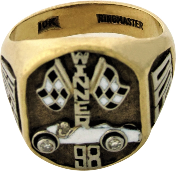 1963 PARNELLI JONES INDIANAPOLIS 500 WINNERS RING