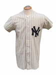"1961 MICKEY MANTLE JERSEY USED IN THE MOVIE ""61"""