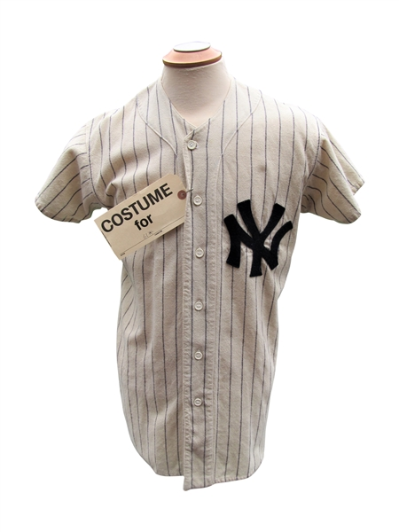 1961 MICKEY MANTLE JERSEY USED IN THE MOVIE 61