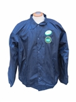 RARE 1985 BEN HOGAN GAME WORN MASTERS JACKET WITH SIGNED CLUB HOUSE PASS
