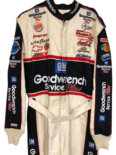 2000 DALE EARNHARDT Sr GOODWRENCH WORN RACE SUIT