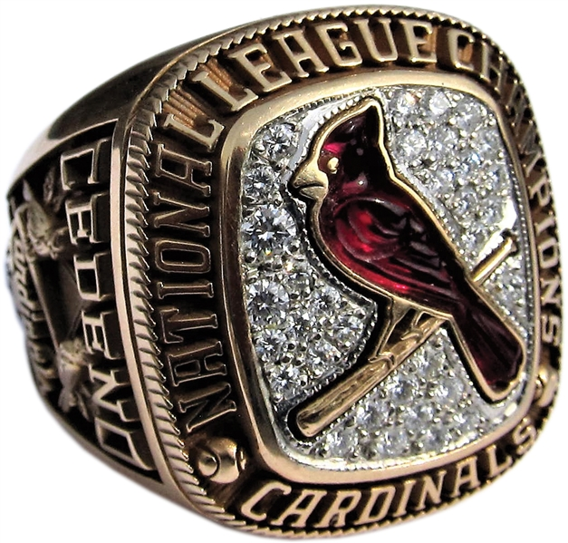 2004 St LOUIS CARDINALS NATIONAL LEAGUE CHAMPIONS PLAYERS RING