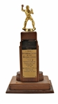 1949 ROY CAMPANELLA OUTSTANDING CATCHER OF THE NATIONAL LEAGUE TROPHY