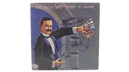 BLUE OYSTER CULT AGENTS OF FORTUNE SIGNED ALBUM