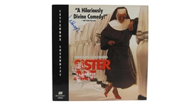 WHOOPI GOLDBERG SIGNED SISTER ACT ALBUM