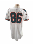 1995 ERIC GREEN MIAMI DOLPHINS GAME USED JERSEY