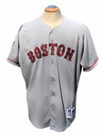 1994 ROGER CLEMENS GAME USED BOSTON RED SOX ROAD JERSEY WITH MLB 125TH PATCH