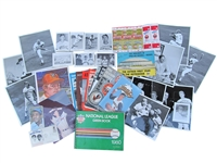 COLLECTION OF MISCELLANEOUS LARRY DIERKER ITEMS