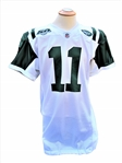 2008 KELLEN CLEMENS GAME USED NEW YORK JETS JERSEY