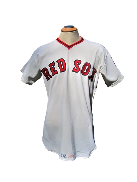 1975 JIM RICE BOSTON RED SOX ROOKIE GAME USED JERSEY