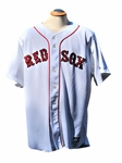 2007 MANNY RAMIREZ BOSTON RED SOX WORLD SERIES GAME USED JERSEY