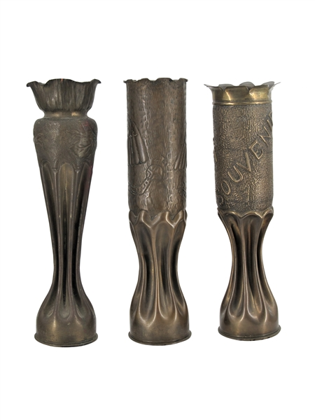 AMAZING COLLECTION OF WWI TRENCH ART OVER 100 PIECES