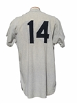 1960 MOOSE SKOWRON SIGNED NEW YORK YANKEES GAME USED JERSEY