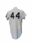 1970 MIKE HEGAN NEW YORK YANKEES GAME USED JERSEY