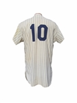 1959 TONY KUBEK NEW YORK YANKEES GAME USED JERSEY