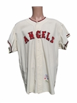 1965 BOB LEE CALIFORNIA ANGELS GAME USED JERSEY