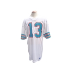 ROOKIE ERA DAN MARINO SIGNED GAME USED MIAMI DOLPHINS JERSEY