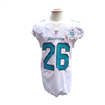 2015 LAMAR MILLER MIAMI DOLPHINS GAME USED UNIFORM (3)
