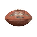 2012 LONDON GAMES PATRIOTS VS RAMS RON GRONKOWSKI SIGNED ACTUAL TOUCHDOWN FOOTBALL