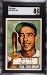 1952 TOPPS BILLY COX SGC 8
