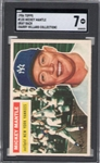 1956 TOPPS MICKEY MANTLE SGC 7