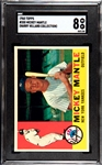 1960 TOPPS MICKEY MANTLE SGC 8