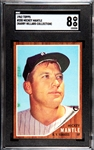 1962 TOPPS MICKEY MANTLE SGC 8