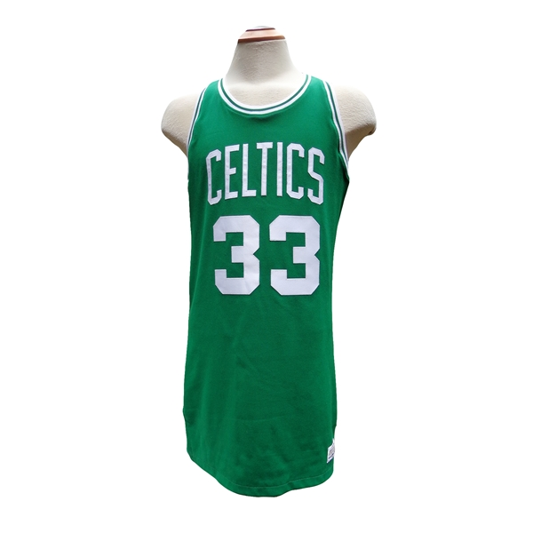 1979 ROOKIE LARRY BIRD GAME USED BOSTON CELTIC JERSEY